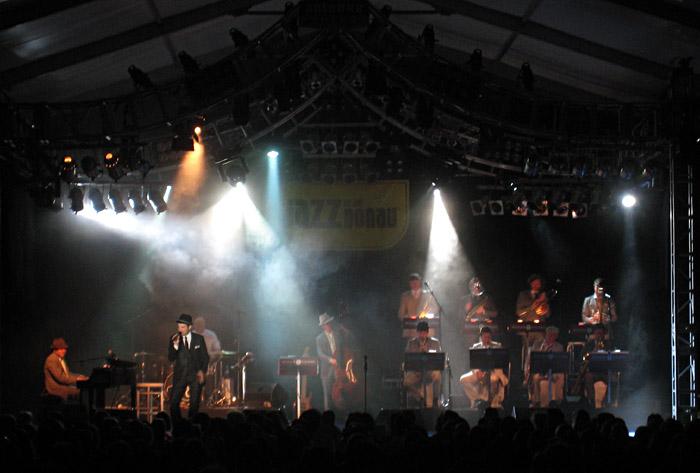 Roger Cicero beim Jazz an der Donau - Festival in Straubing