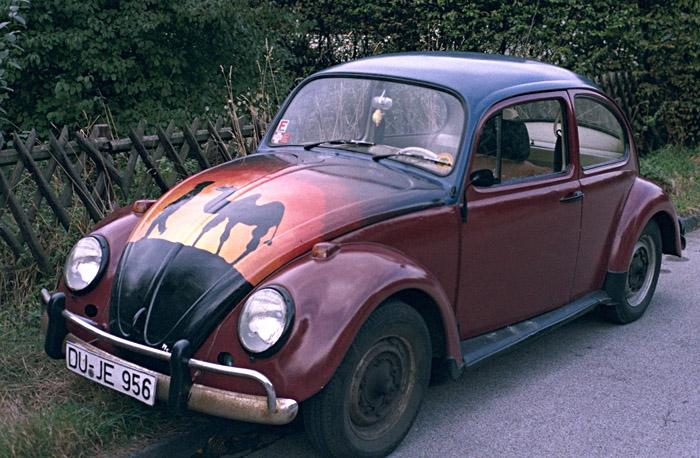 Mein erstes Auto, ein 65er VW Käfer