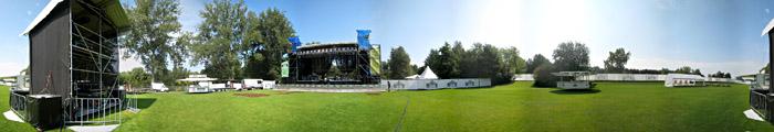 Die Feldschlößchen - Bühne in Braunschweig; Bild größerklickbar