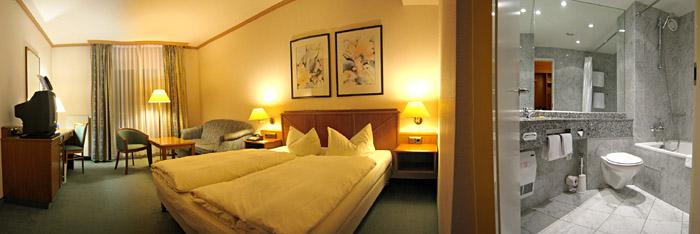 Mein Zimmer im Penta Hotel in Braunschweig; Bild größerklickbar