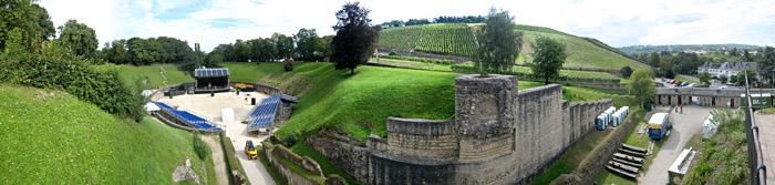 Amphitheater Trier; Bild größerklickbar