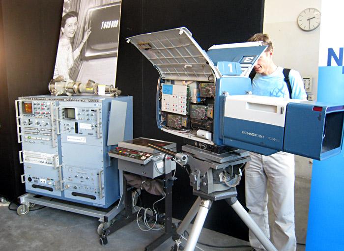 Kamera und Technik aus dem Technikfundus des NDR