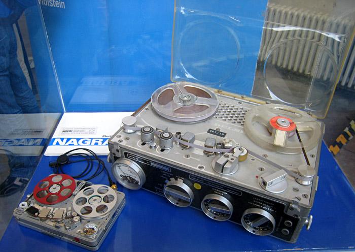 Tonbandmaschinen aus dem NDR Technikfundus