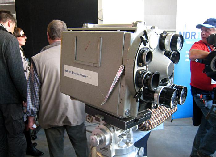 Kamera aus dem Technikfundus des NDR