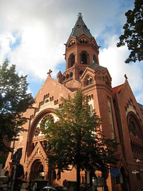 Die Passionskirche in Berlin Kreuzberg
