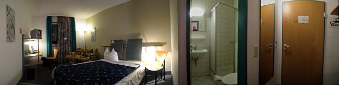 Zimmer 323 im Hotel Residenz, Hilpertsweiler; Bild größerklickbar