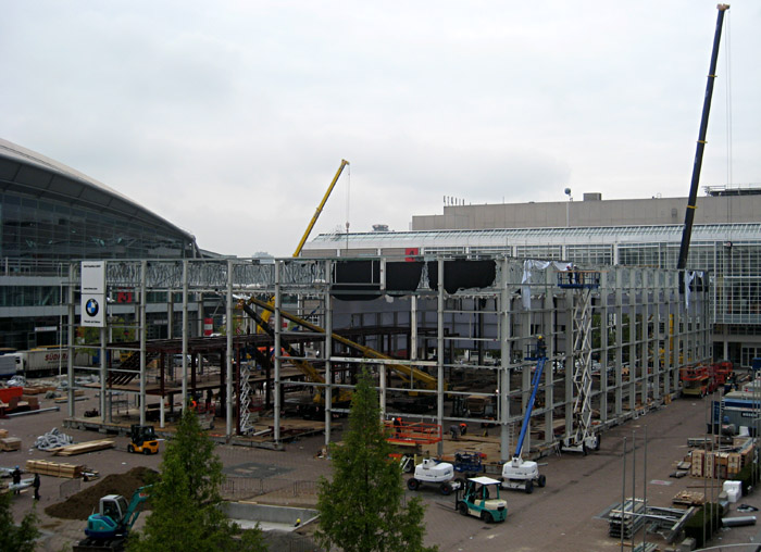 IAA - Abriß in der Messe Frankfurt