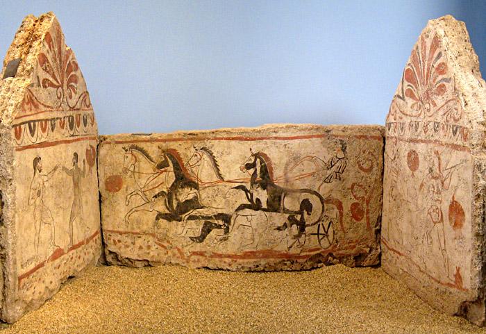 Grab aus Paestum