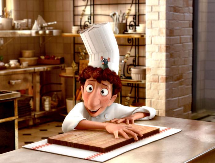 Filmausschnitt Ratatouille; Copyright: Pixar / Disney