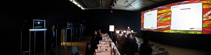 Widescreen - Seminar bei Publitec; Bild größerklickbar