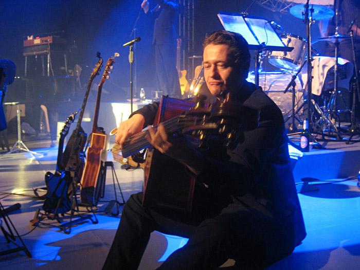 Olaf Casimir beim Annett Louisan - Konzert in Marburg