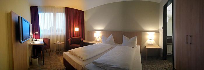 Zimmer 312 im Welcome Hotel Paderborn; Bild größerklickbar