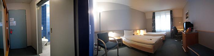 Zimmer 209 im Hotel Herisau; Bild größerklickbar