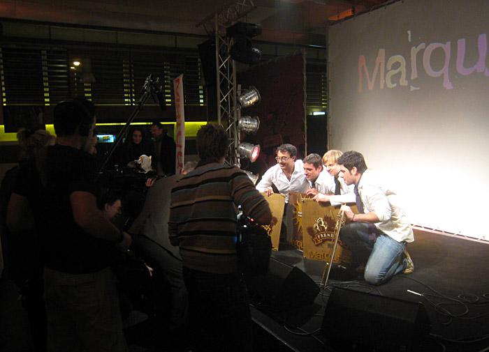 Marquess mit goldenen Schallplatten für ihr Album