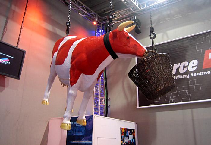 fliegende Kuh