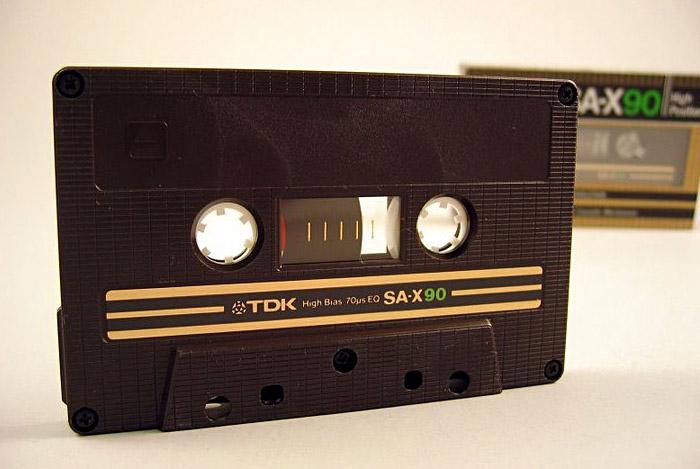 TDK - Cassette; Copyright: Dominik