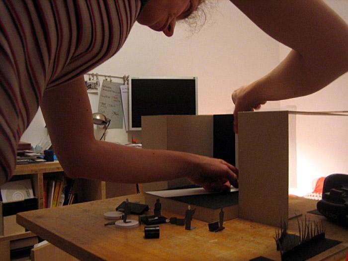 Bau einer Modellbühne