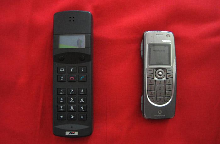 Mein erstes und derzeitiges Handy
