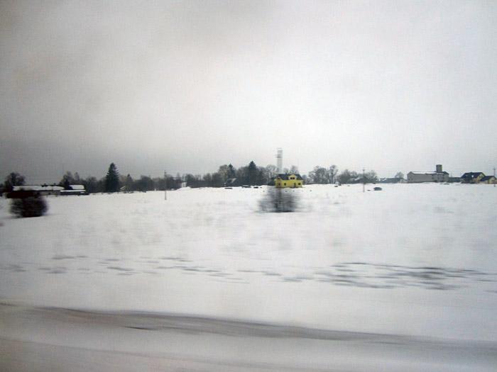 Die estnische Landschaft