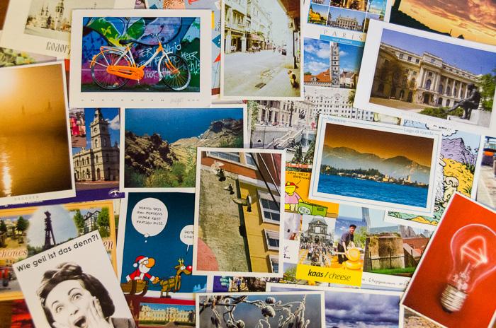 Meine Postcrossing - Postkarten