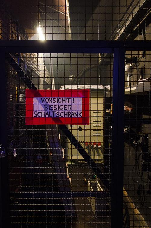 Bissiger Schaltschrank in Würzburg
