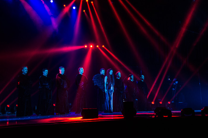 Impressionen der Gregorian Epic Chants - Tour 2013