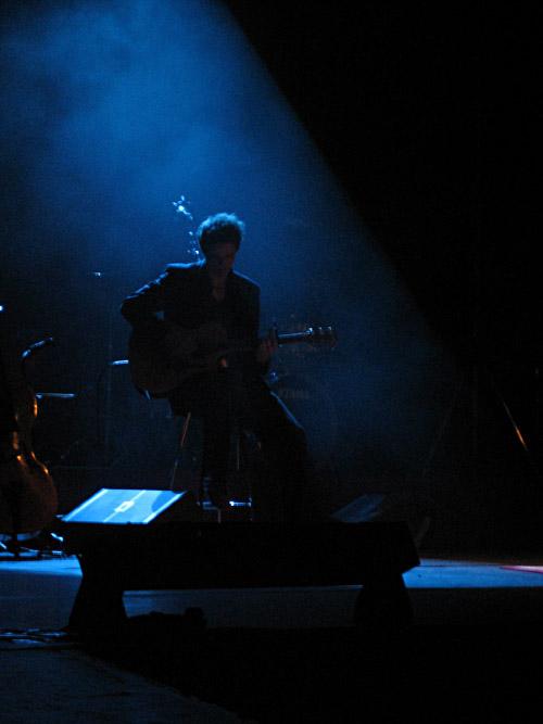 Mirko Michalzik beim Konzert von Annett Louisan in Berlin 1-3