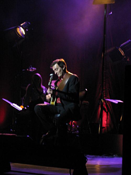 Hardy Kayser beim Konzert von Annett Louisan in Berlin 1-4