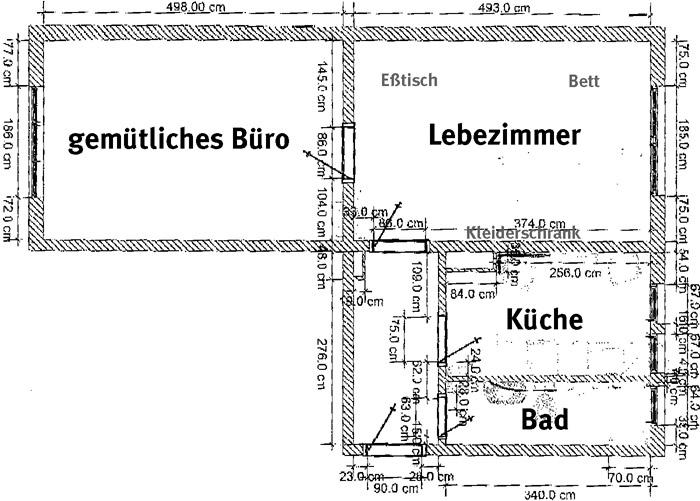 Plan meiner Wohnung