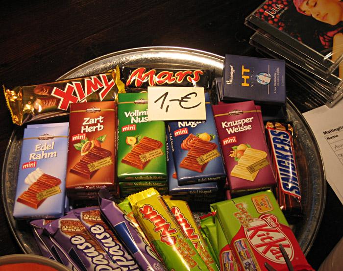 Süßigkeitenteller