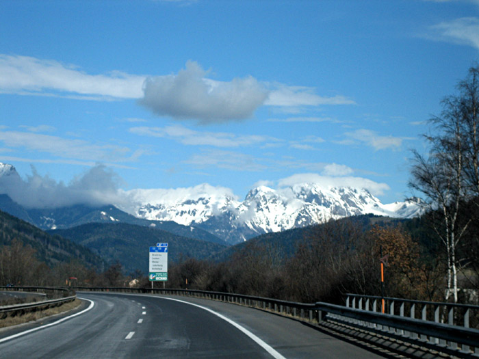 Fahrt von Graz nach Linz