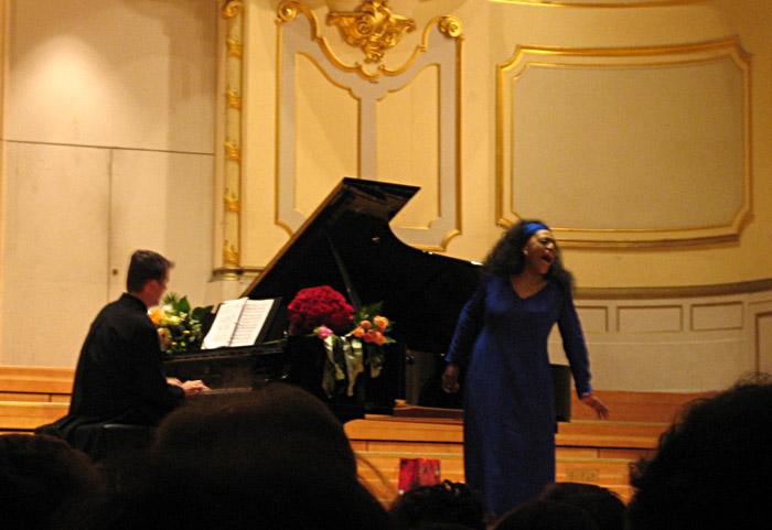 Jessye Norman in der Musikhalle Hamburg