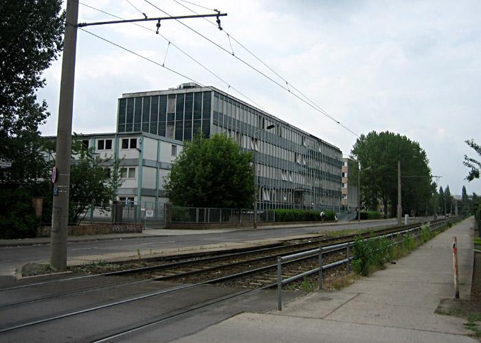 Das Gerichtsgebäude von außen