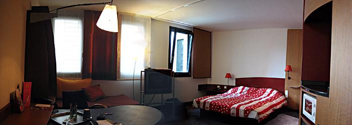 Unser Hotelzimmer im Suithotel Potsdamer Platz in Berlin