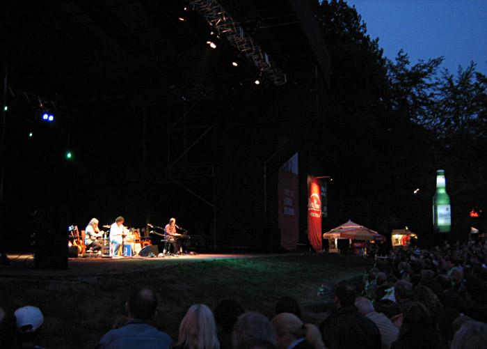 Jackson Browne und David Lindley im Stadtpark Hamburg