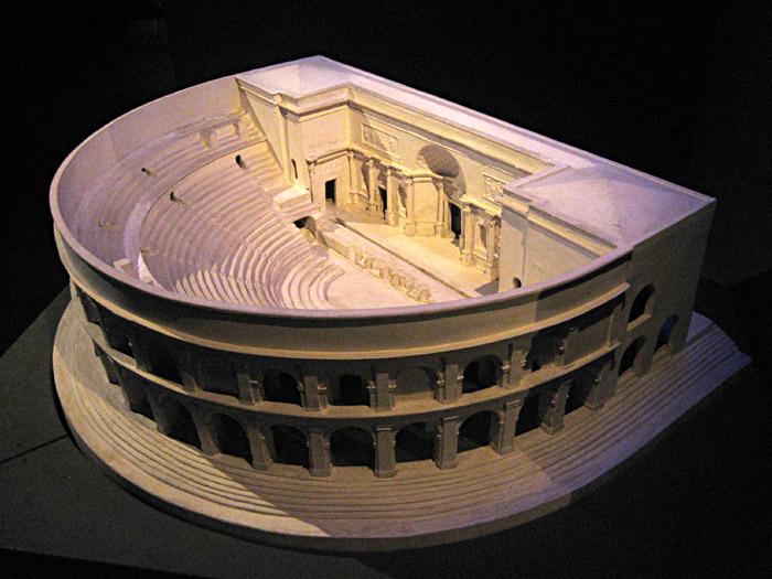 Das Theater von Herculaneum