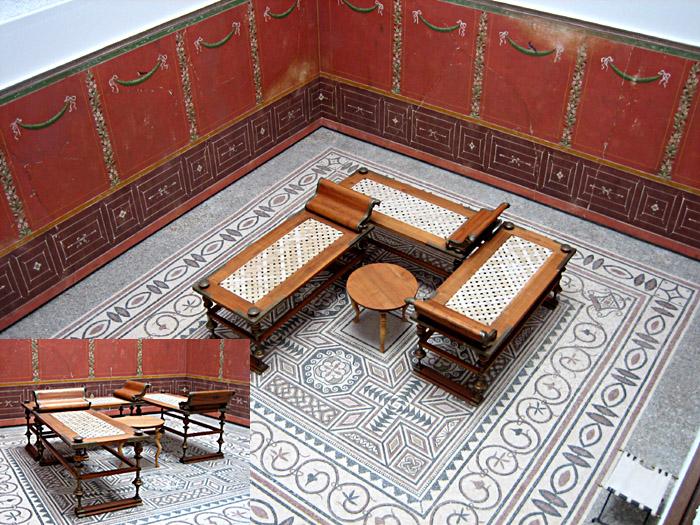 Eßecke aus Herculaneum