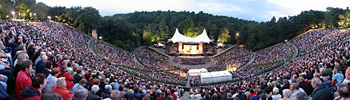 Die Waldbühne beim Konzert mit Max Raabe